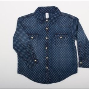 Other - western denim shirt